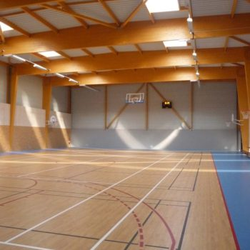 Ecobat construction salle de sports Bournezeau Vendée 85