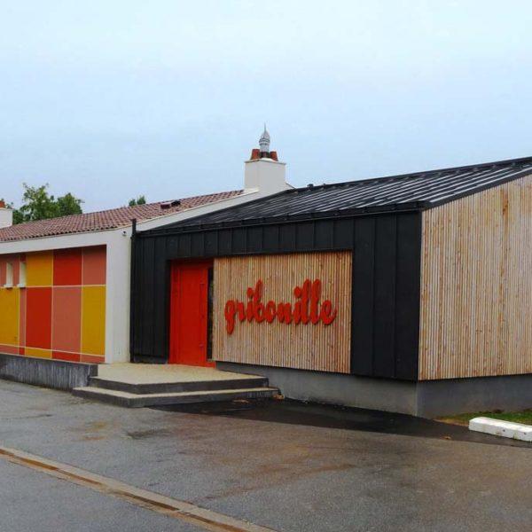 Ecobat construction accueil périscolaire St-Sulpice-le-verdon en Vendée