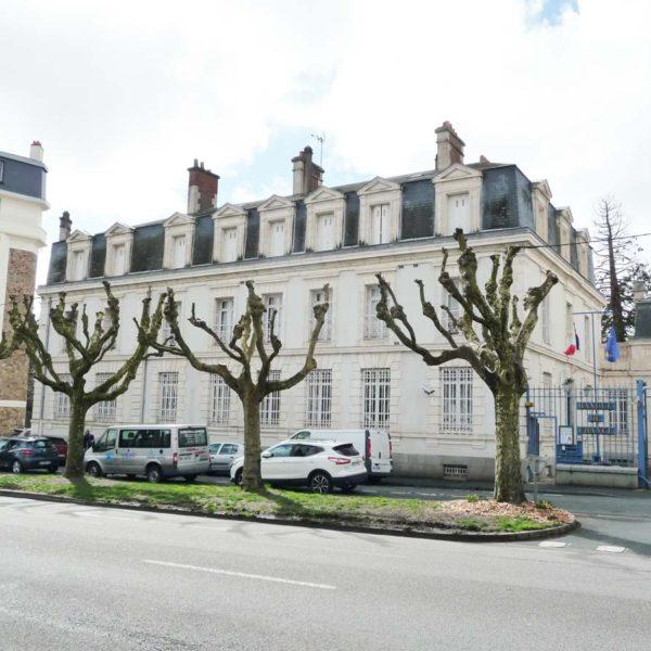 Ecobat rénovation bâtiment historique banque de France Vendée 85