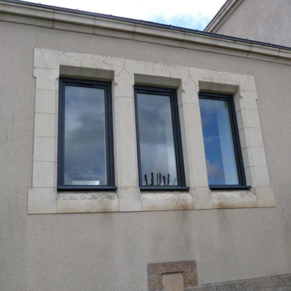 Ecobat rénovation bâtiment mairie Vendée 85