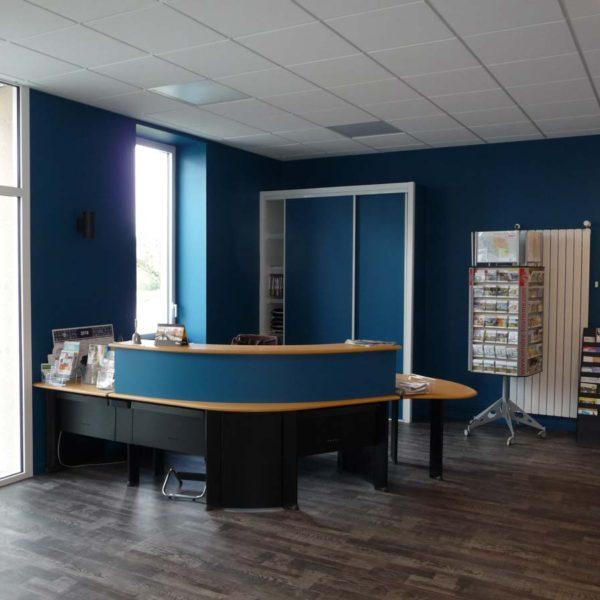 Ecobat rénovation bâtiment public mairie Vendée 85