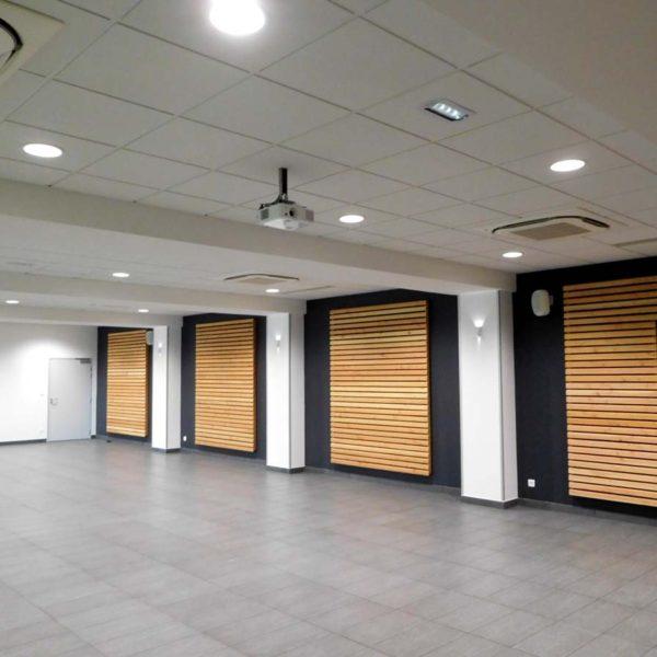 Ecobat conception salle polyvalente Vendée 85