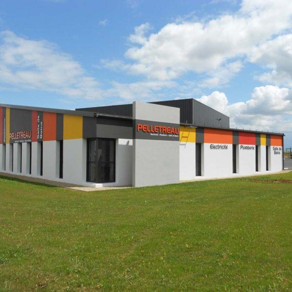 Ecobat construction bâtiment pour artisan Vendée 85