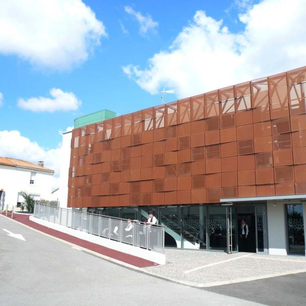 Ecobat construction réalisation salle polyvalente Vendée 85
