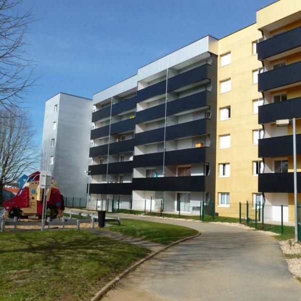 Ecobat construction immeuble Vendée 85