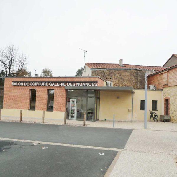 Ecobat réalisation salon coiffure Vendée 85